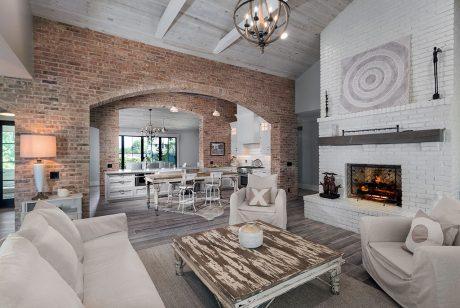 sylvan lake living room