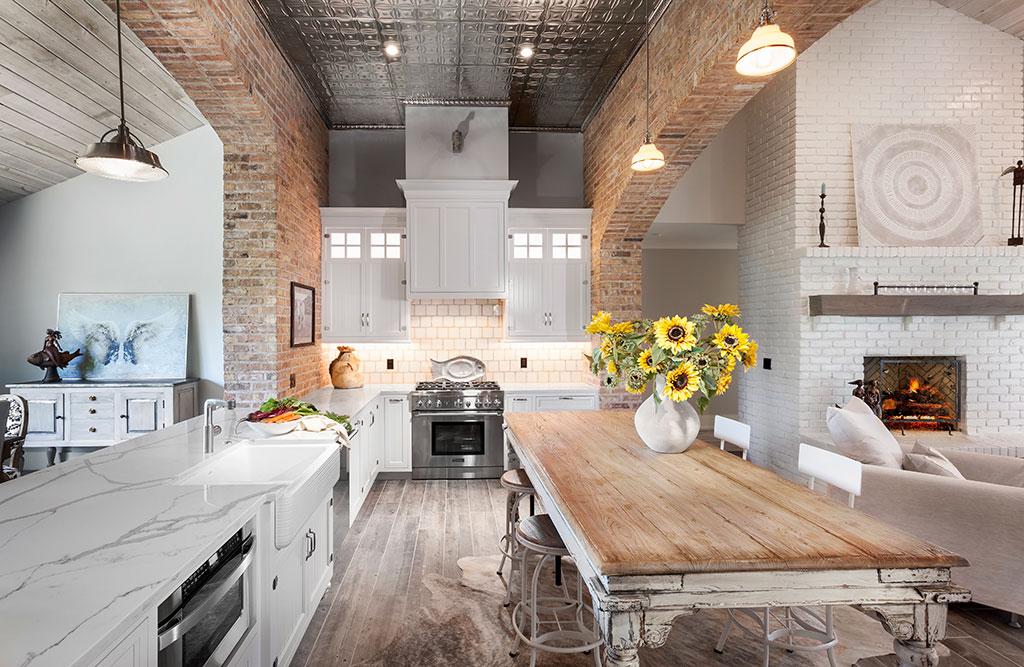 sylvan lake kitchen/dining